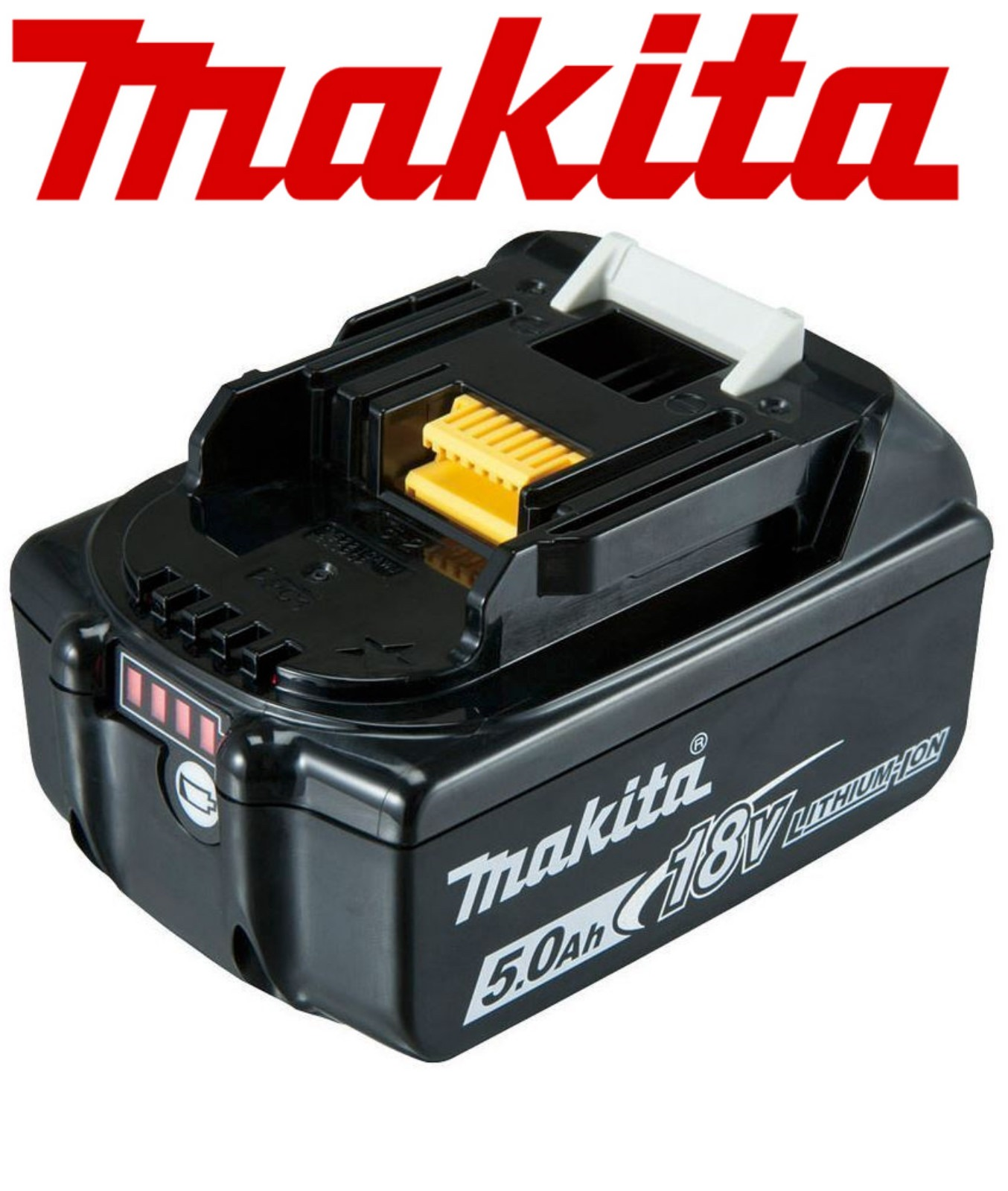Makita 18v 50ah Battery Bl1850 Charge Level Indicator Low