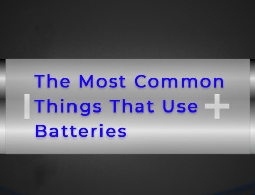The Most Common Things That Use Batteries