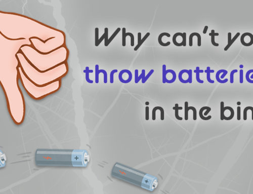 Why Can't You Throw Batteries In The Bin?